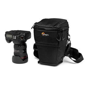 Lowepro ProTactic TLZ 70 AW Toploader Extensible pour Reflex Type Canon 5D avec Optique Jusqu'à 24-70 mm, Pare-Soleil et Poignée d'Alimentation – LP37278-PWW