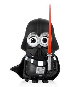 THNQ Décoration de Voiture Poupées Cosplay for Star Wars Creative Ornements Heroes Noir Blanc Épée Jouets Voiture Intérieur Accessoires Ornements (Color Name : Black)