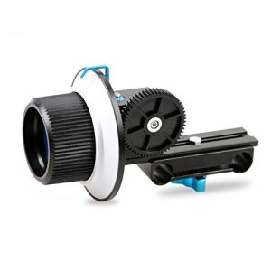 WFBD-CN Light Ring Mise au Point précise Follow Focus F1 avec Ceinture for Anneau de Vitesse cmera Objectif Appareil Photo Reflex numérique et caméscope for 15mm Rod Rig trépied