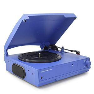 WNTHBJ Tourne-Disque, Lecteur de Bande 33/45/78 RPM LP Vinyle Bluetooth, Prise Casque Platine Haut-Parleur intégré et Une Sortie RCA