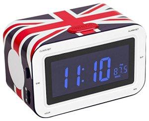 BigBen RR3 Radio-réveil Union Jack Farbe