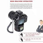 Camera MA2 – Étoile retardée avec rotation à 360 degrés – Support for appareil photo à cristaux liquides for appareils photo reflex et numérique avec photographie accélérée (Noir) Durable and Beautifu