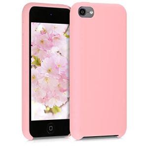 kwmobile Étui Compatible avec Apple iPod Touch 6G / 7G (6ème et 7ème génération) – Coque Protection en Silicone pour Lecteur MP3 Or rosé Mat