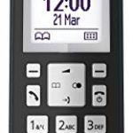 Panasonic kx-tgk210téléphone DECT Identifiant d'appel Noir [Version Espagnole]