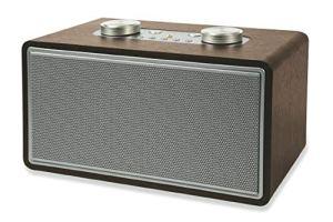 Rock Haut-Parleur Radio Bois 80 W Vert