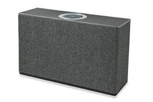 Techno Haut-Parleur Radio en Tissu 60 W Gris