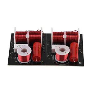 2X ES302 diviseur de fréquence de Haut-Parleur Audio 2 Voies Filtre de Croisement HiFi pour Basses aiguës