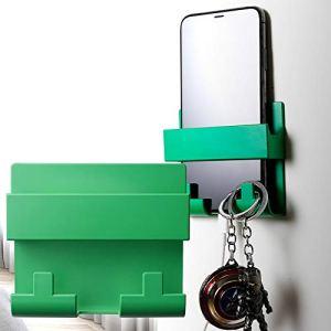 AFDK Rack De Recharge pour Téléphone Portable, Support De Téléphone Portable Mural, Universel Support Mural Auto-Adhésif Téléphone Chargement Prise Support