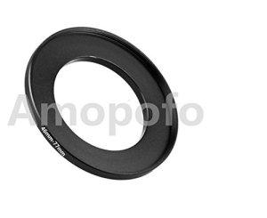 Amopofo universel 46–77mm/46mm de 77mm Step Up Anneau adaptateur de filtre pour pour UV, ND, CPL, métal Step Up Anneau adaptateur