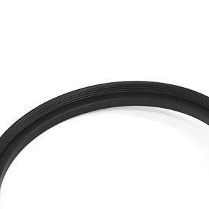 Belmalia 8 kit de Bagues d'Adaptation Step-Down, Anneaux de Lentille, Objectif-Filtre-Adaptateur: 82mm 77mm 72mm 67mm 62mm 58mm 55mm 52mm 49mm Lens Adapter par ex. Canon, Olympus, Nikon DSLR