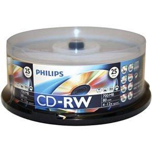 CD-RW 25PK SPINDLE
