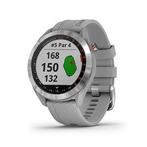 Garmin Approach S40 Smartwatch Golf GPS Acier Silicone Poudre Grise 010-02140-00