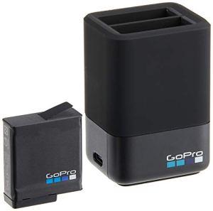 GoPro AADBD-001 Chargeur de Batterie Noir Chargeur de Batterie Domestique – Chargeurs de Batterie (1 pièce(s), Lithium-ION (Li-ION), 1220 mAh, USB Type-C, Noir, Chargeur de Batterie Domestique)