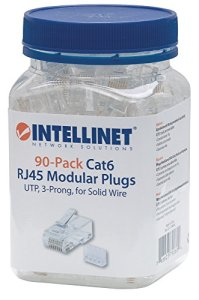 Intellinet 790604RJ45Transparent–connecteur (Transparent)