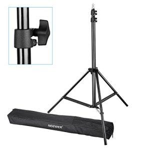 Neewer Pro Support d'éclairage de Photographie avec étui de Transport pour réflecteurs, boîtes à lumières, parapluies, Fonds, etc.