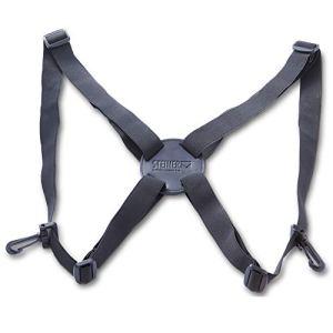 Steiner Comfort Harness – Sangle de Transport Confortable pour Jumelles pour soulager Les Muscles du Cou et du Dos 7690 Noir