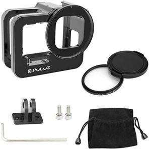 Taoric Cadre de Protection en métal/Filtre UV de Bande pour GoPro Hero 9 Black