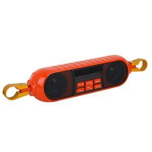 WRU Moto Bluetooth Haut-Parleur Portable Étanche, Supporte La Radio De Subwoofer De Carte TF