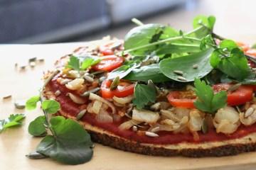 pizza pâte de chou fleur IG bas