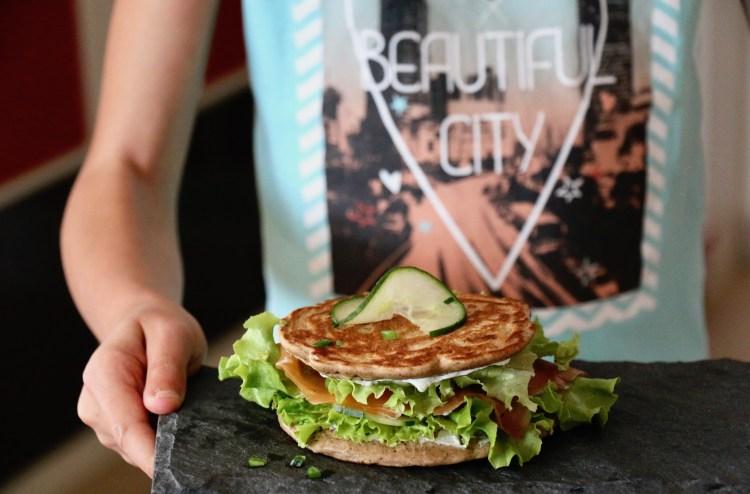 sandwich blinis au sarrasin sans gluten IG bas