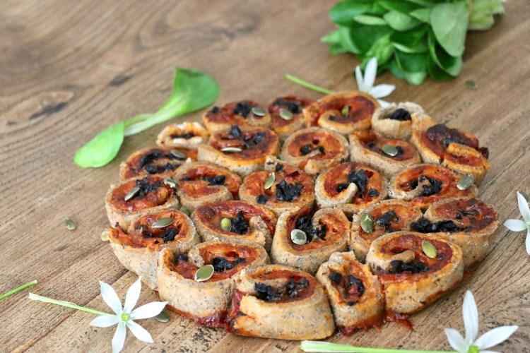 Pizza fleur index glycémique bas seigle