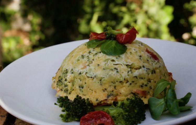 Bowl-cake brocoli-tomate séchée