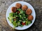 Boullettes végétariennes de lentilles vertes