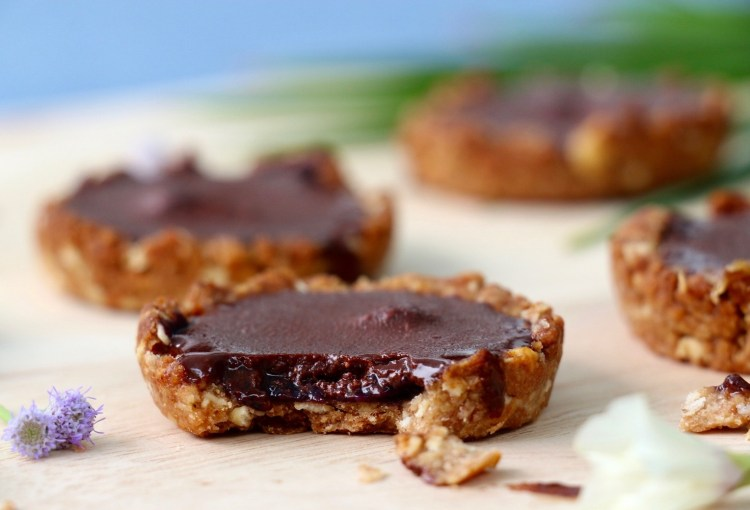 Mini-tartelettes choco-myrtilles