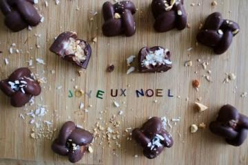 Chocolats de Noël faits maison IG bas