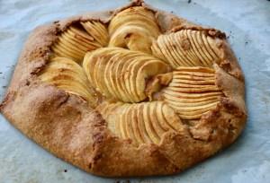 tarte aux pommes rustique IG bas