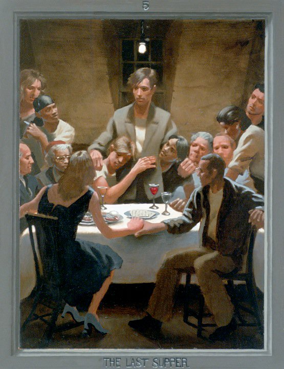 Paintings Passion Of Christ A Gay Vision