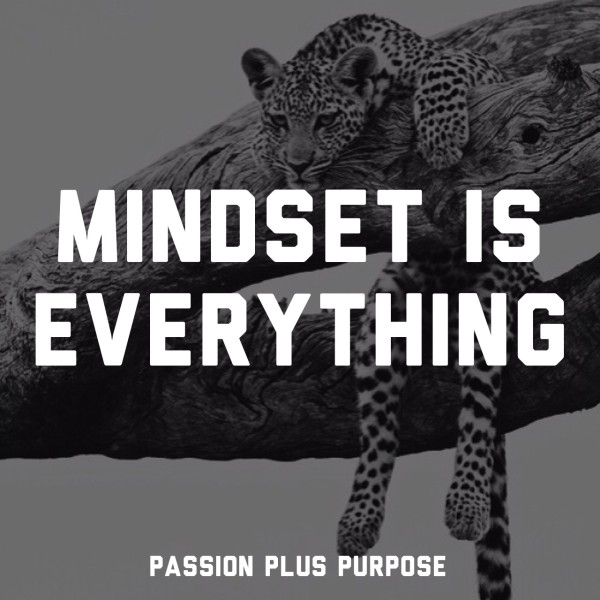 Passion Plus Purpose - Mindset Is Everything