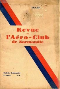 Bulletin trimestriel ACN Aout 1937 ©Alain Bétrancourt