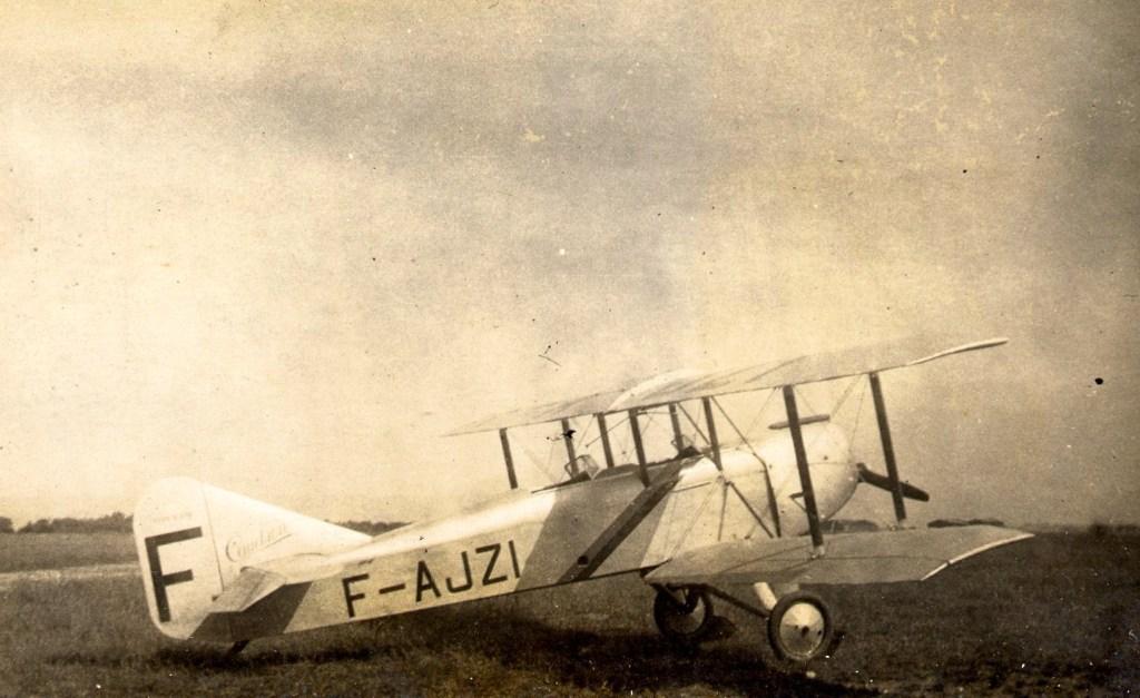 Caudron C.232 F-AJZI de l'Aéroclub de Normandie