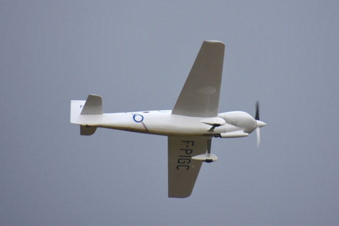 ARLETTY II F-PIGC piloté par Christian GUILIE