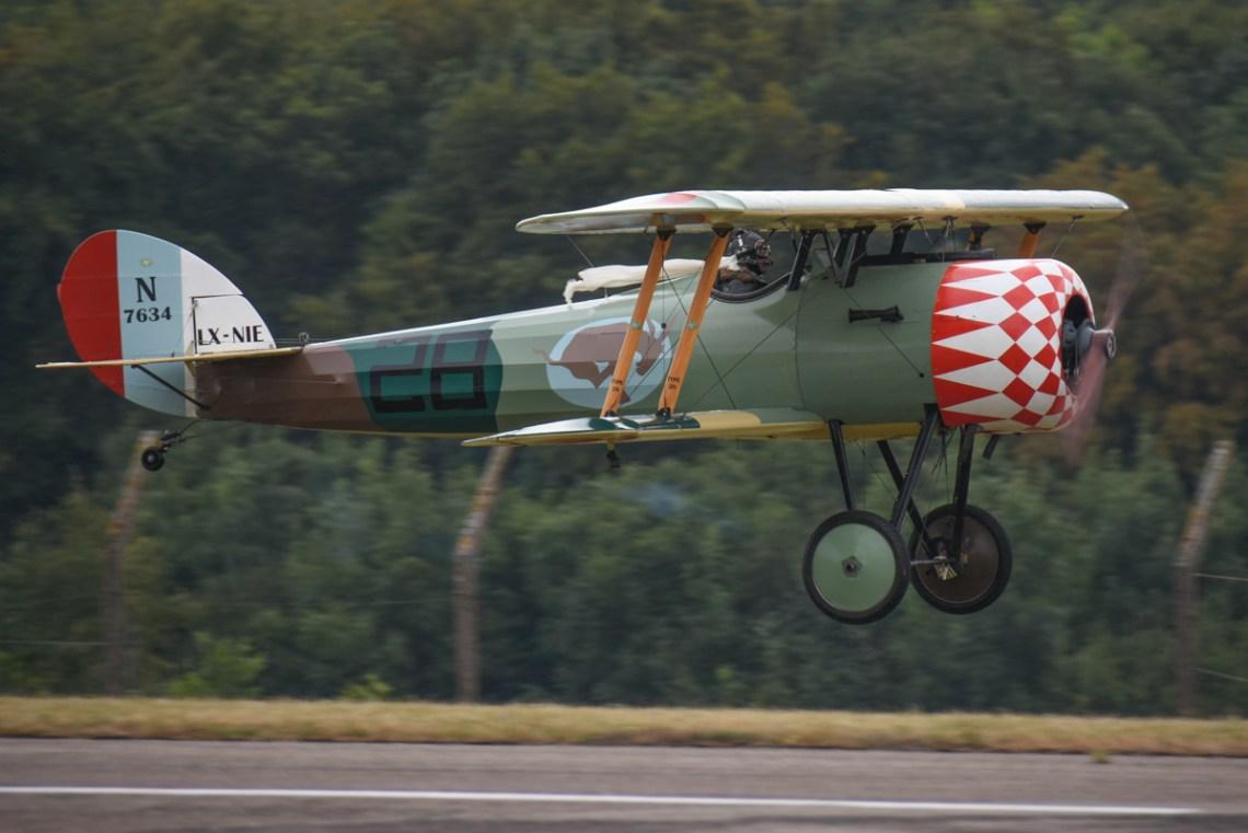 réplique Nieuport 28 LX-NIE de Thierry ROUSSEL