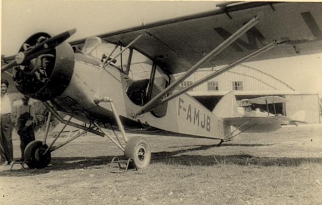 Potez 439A F-AMJB aéroclub du Languedoc ©Jacques Hémet