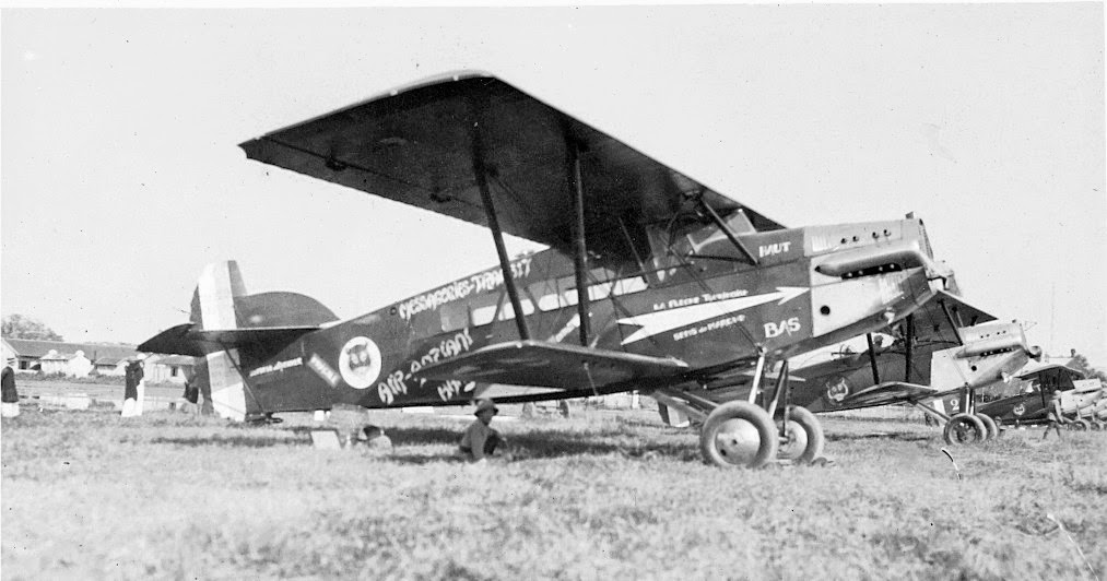 Potez 29 n°30  escadrille 1 d'Indochine ©Jacques Hémet