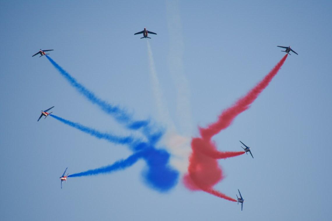 la Patrouille de France PAF