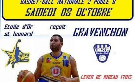 4e journée NM2 : Angers Étoile d'Or Saint-Léonard accueille Gravenchon avec l'objectif de se relancer