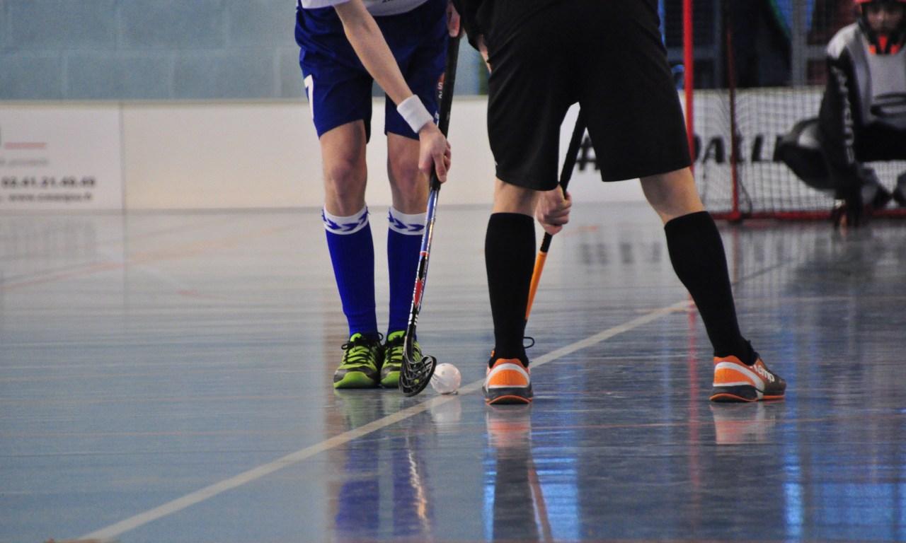 Le floorball, un sport qui monte !