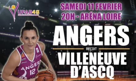 LFB (17e journée) : Gros morceau pour Angers qui reçoit Villeneuve-d'Ascq, prétendant au titre !