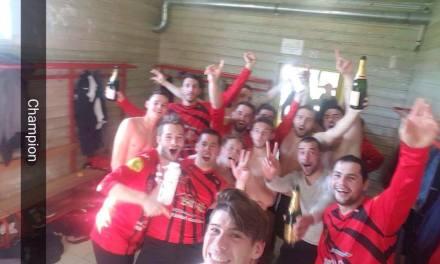 Le FC Villevêque-Soucelles valide sa montée en Deuxième Division avec 17 points d'avance !