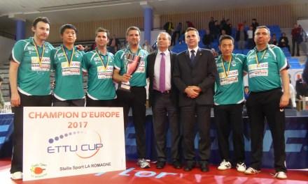 La Romagne remporte le premier trophée européen de son histoire à Angers (3-1).