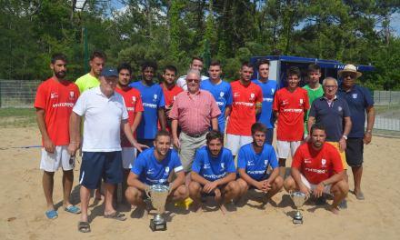 Fontenay remporte la neuvième édition du challenge régionale de Beach Soccer.