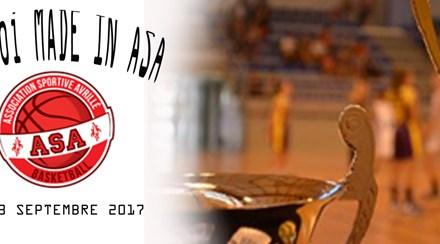 L'AS Avrillé Basket organise son tournoi U15 région, du samedi 2 au dimanche 3 septembre 2017.