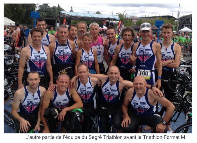 Le Segré Tri, chez leurs voisins et amis du Château-Gontier Triathlon.