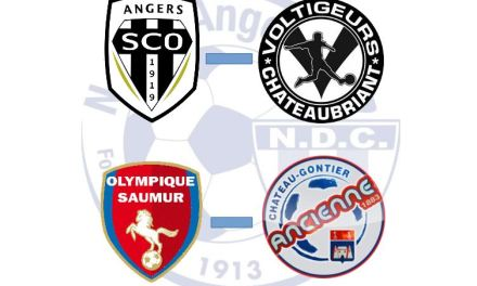 NDC Angers football accueille deux matchs amicaux.