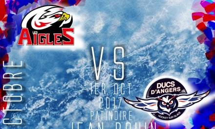 Ligue Magnus (8e journée) : Les Ducs d'Angers doivent rebondir à Nice.