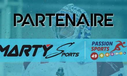 Marty Sports : Nouveau partenaire de Passion Sports 49 !